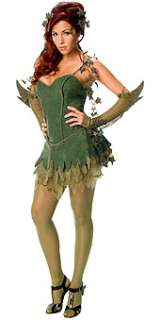 Size 4   6 Poison Ivy Fancy Dress Batman Villain Costume (XSmall