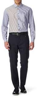 VIVIENNE WESTWOOD Striped slim fit single cuff shirt