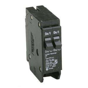Eaton Cutler Hammer 20 Amp 1 in.Duplex Double Pole Type BR Replacement