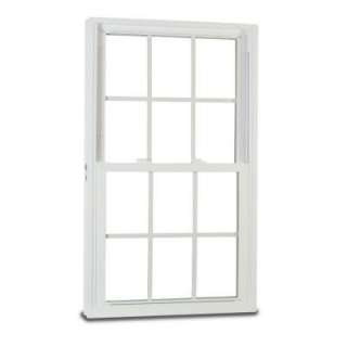 Double Hung Vinyl Windows, 28 in. x 54 in. White, with LowE3 Insulated