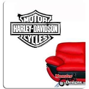 Wandtattoo Harley Davidson Logo Kunst Wandaufkleber  Küche