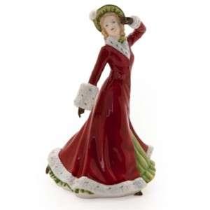 Royal Doulton Winter Romance Christmas Figurine