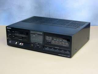 Sony TA AX550 Integrated Audio Video Stereo Amplifier