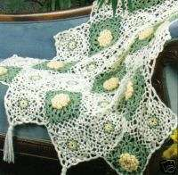 Gorgeous Flower Afghan Crochet Patterns Afghans Pattern