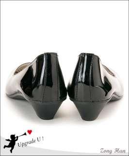 Elegant Slip on Comfy Low Heels Ballet Shoes in White, Black, Gray