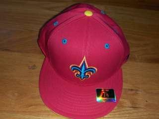New Orleans Saints Reebok Kolors Fitted Hat Cap 7 3/8