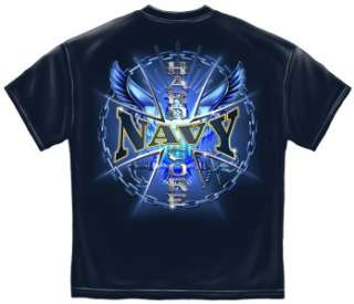 Navy T shirt HARD CORE NAVY