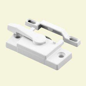 Prime Line Vinyl Window Sash Lock with Keeper, White F 2744 at The