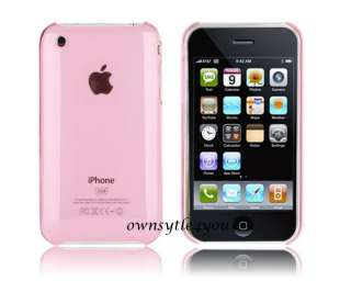 Tasche Apple iPhone 3G/3GS Hülle Case Cover Ultra Pink
