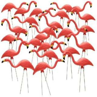 27 in. Pink Flamingo 24 Pack HDR 499492