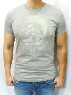 NWT Diesel Brand Men Vintage T Nana Rs Punk Tee Shirts