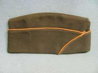 Wool Garrison Cap w Braid