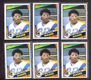 Eric Dickerson 1984 Topps RC Card #280 (54) Card Lot