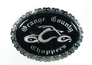 Orange County Choppers OCC BELT BUCKLE bike chain biker