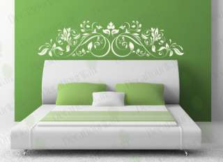 Headboard Decal Removable Vinyl Wall Sticker Decor Art