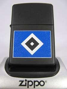 Zippo Feuerzeug HSV black matte