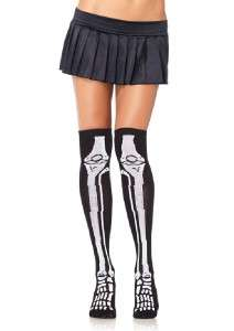 THIGH HIGHS SOCKS GOTHIC BURLESQUE PSYCHOBILLY HALLOWEEN VAMP