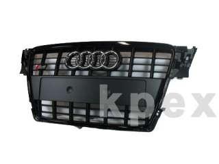 Original Audi S4 Grill schwarz Kühlergrill Grille 8K A4 S Line