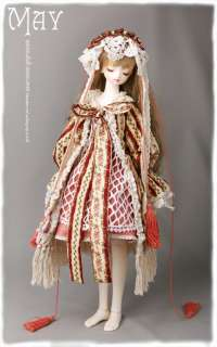 MAY DollZone girl doll super dollfie size bjd 1/3
