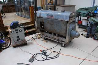Lincoln SA 200 pipeline DC welder,gas powered F 163