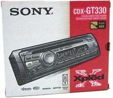 Sony CDX GT330 Car Stereo CD/MP3/Radio Car Player/Receiver with Front