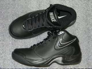 NIKE OVERPLAY V MENS LEATHER BASKETBALL SHOES (NEW) $109VALUE