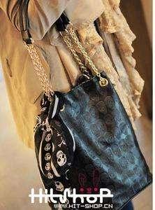 New Fashion Skull Shoulder Bag Scarves Hobo Satchel Tote Purse Handbag