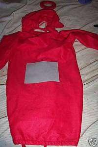 BABIES PO TELETUBBIES HALLOWEEN COSTUME BUNTING SIZE 1