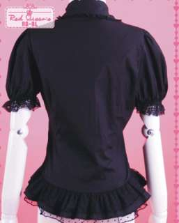 girls Gothic lolita nana lovely blouse shirt top emo girls clothes