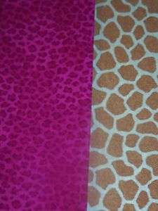 Animal Skin Prints 100% Cotton fabric Giraffe Jungle Babies Novelty