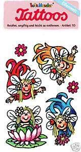 Lutz Mauder Tattoo Tattoos Elfen Blumen Feen Mädchen