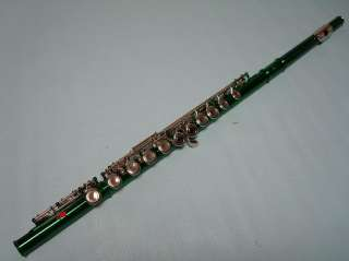 High Quality School Band Green Flute Brand New