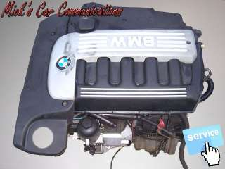 Dieser Original BMW Motor stammt aus einem BMW 5er E39 Turbo Diesel