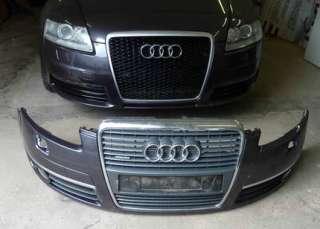 Audi A6 4F Frontstossstange + Grill+Gitter+ Nebelscheinwerfer in