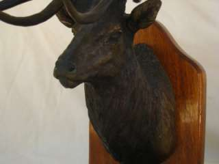 Boone Crockett #2 Rocky Mountain Elk Foundation James Stafford Bronze