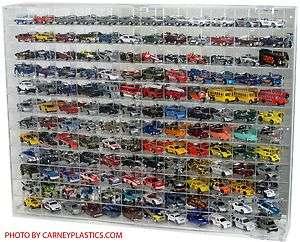 Redline Hot Wheels 144 CAR 164 Diecast Display Case