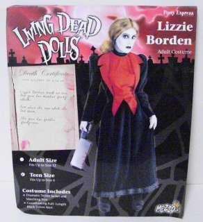 Lizzie Borden Living Dead Dolls Costume Adult #300519