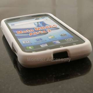 Rubberized Faceplate Hard Case Cover for Motorola Atrix 2 MB865 AT&T