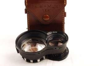 Rollei TLR Zeiss Mutar 1.5 X Bay III RIII w/Case Nice
