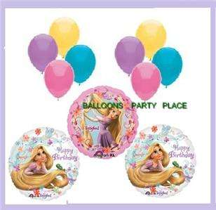 DISNEY RAPUNZEL TANGLED birthday party balloons pink