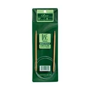 Clover Bamboo Circular Knitting Needle 29 Size 10.5 3016