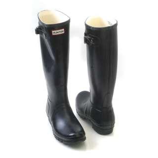 HUNTER ORIGINAL BLACK Wellington boots stivali neri class 37 38 39 40