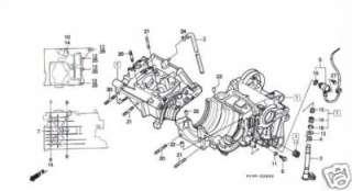 HONDA NSR 250 NSR250 Kit BTR vis inox carters moteur