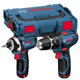 10.8 2 LI Combi Hammer Drill+GDR 10.8V LI Impact Driver SET Bosch IXO