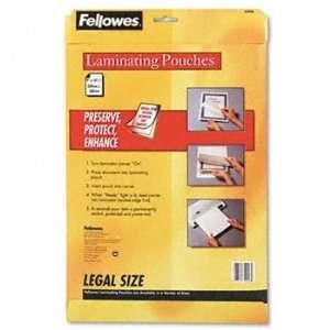 Fellowes® Laminating Pouches POUCH,LAM,LGL SZ,50/PK 61382