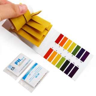 160 pH Indicator test Strips 1 14 Paper Litmus Tester Urine & Saliva