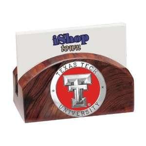 Texas Tech Red Raiders Ironwood Business Card Holder