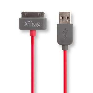iFrogz IFZ CH PS RED Unique Synch Apple Sync/Charge Cable
