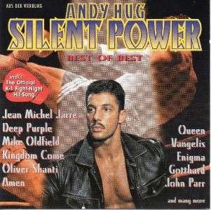 ANDY HUG SILENT POWER   QUEEN DEEP PURPLEVANGELIS   CD