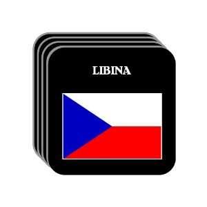 Czech Republic   LIBINA Set of 4 Mini Mousepad Coasters